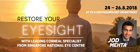 Associate Professor Jod Mehta, A Leading Corneal Specialist, Works At FV Hospital This August