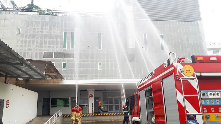 Announcements For Fire Drill At FV Hospital FV Hospital