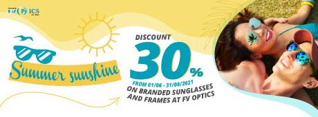 30% Discount at FV Optics – 2021