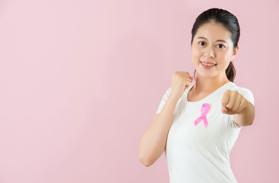 Ms N.G is strong and courageous to fight for her breast cancer. (Image is for illustrative purposes only)