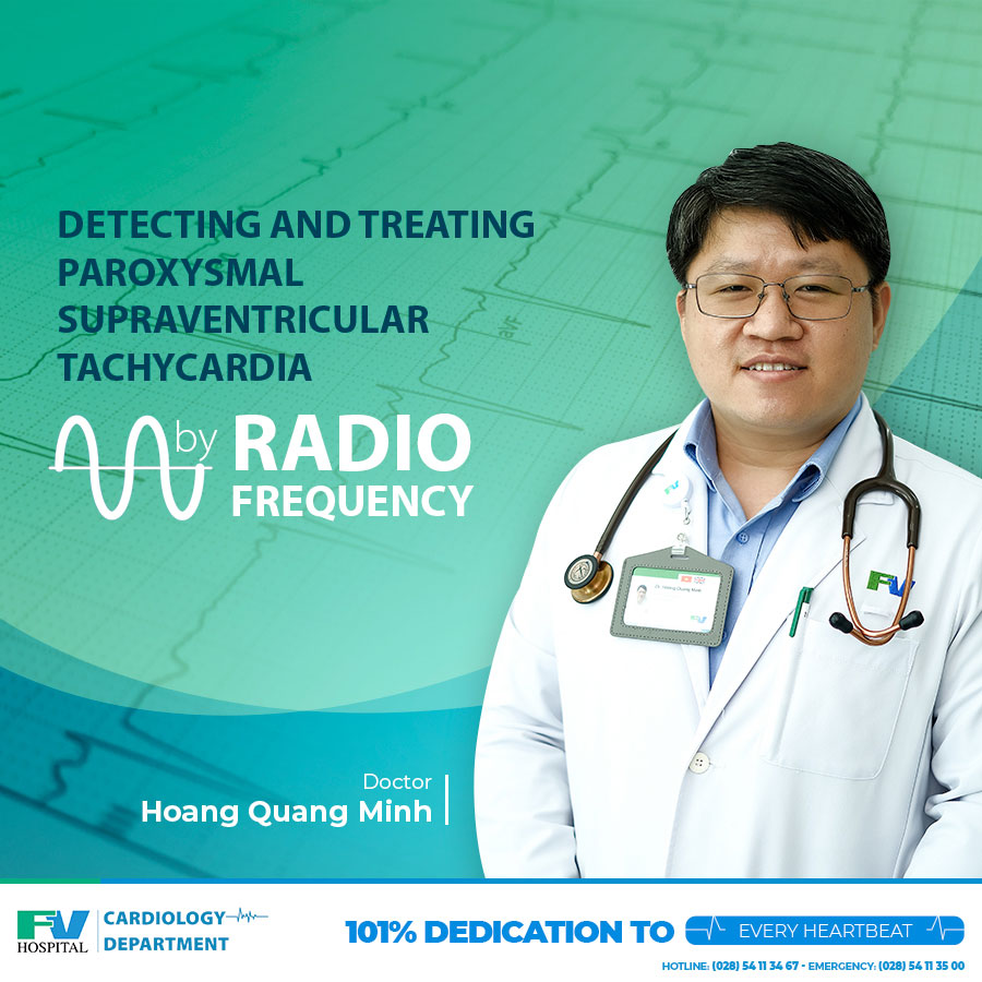 Detecting and Treating Paroxysmal Supraventricular Tachycardia by Radio Frequency via Interventional Catheterisation (Cathlab)