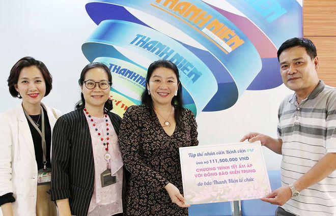 FV Quyên Góp 112 Triệu Đồng Cho Chương Trình Tết Ấm Áp Với Đồng Bào Miền Trung Do Báo Thanh Niên Phát Động