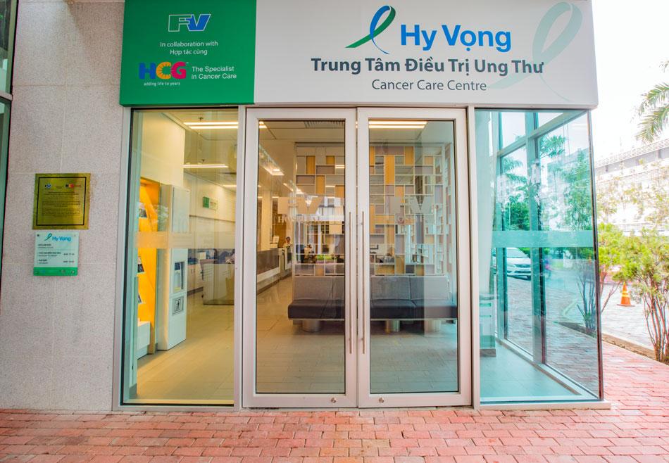 Ấn tượng của cô L.T.Bình về nơi điều trị cho mình chính là tên gọi của Trung tâm – Hy Vọng