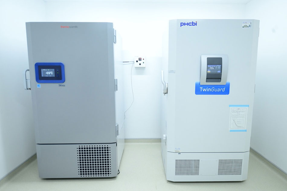 Hệ thống kho lạnh âm sâu để trữ vắc-xin tại FV